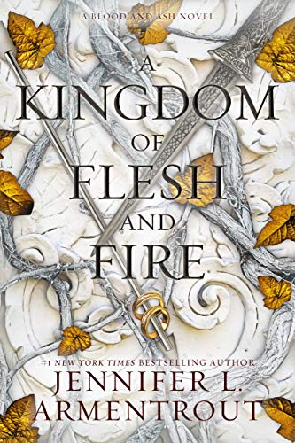 A Kingdom of Flesh and Fire Jennifer L. Armentrout JLA cover