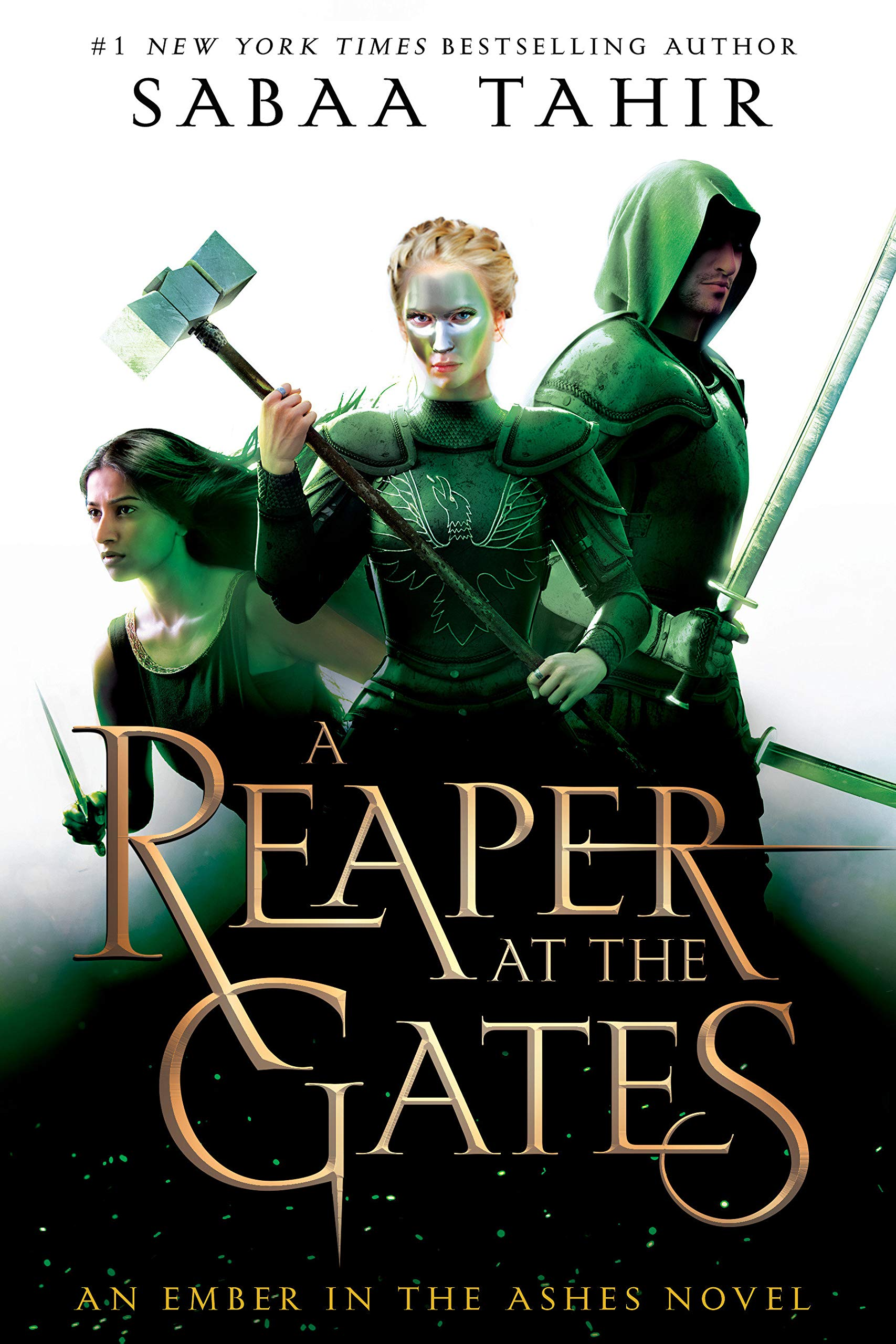A Reaper at the Gates An Ember in the Ashes Sabaa Tahir book cover