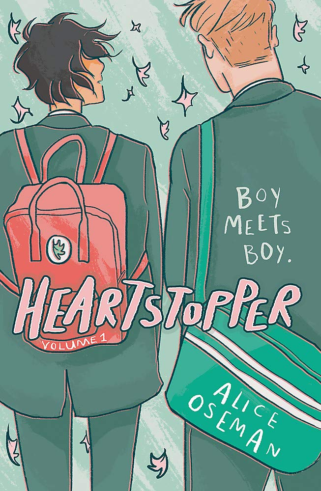 Heartstopper, Volume One Alice Oseman book cover