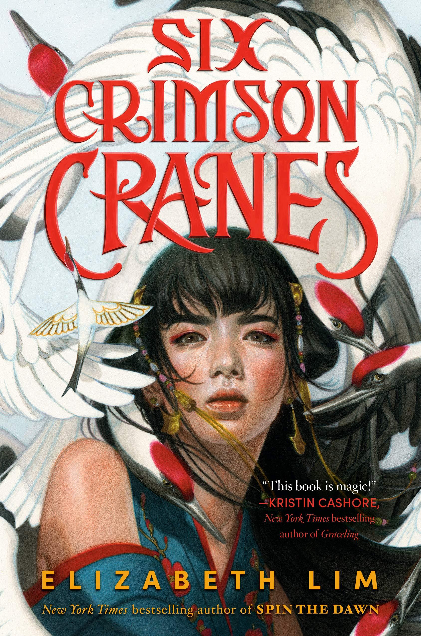 Six Crimson Cranes Elizabeth Lim book cover